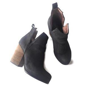 Jeffrey Campbell blk Oshea Cutout Ankle bootie 7